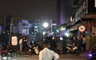 Nhiều tiếng súng nổ khi hai nhóm côn đồ hỗn chiến trong đêm