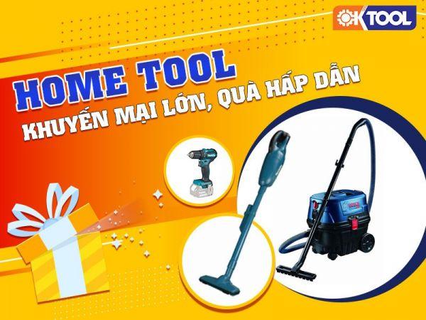 Các sản phẩm máy công cụ home tools cũng nằm trong ưu đãi lần này