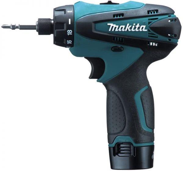 Máy khoan và vặn vít dùng pin 10.8V Makita DF030DWE