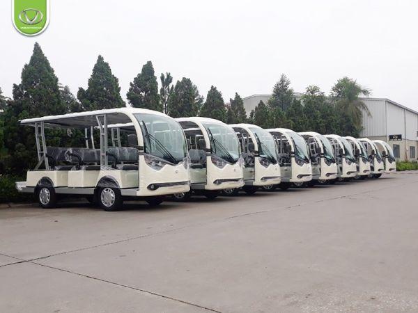 Ô tô điện Tùng Lâm - Trợ thủ đắc lực cho chuyến du lịch xanh Thủ đô