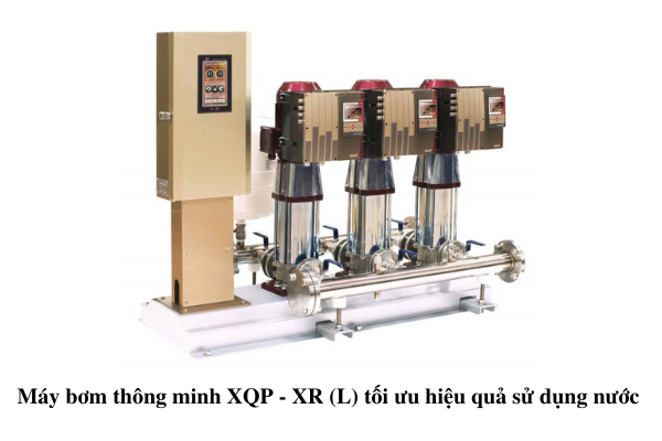 Máy bơm trục đứng đa tầng cánh XQ - XRL