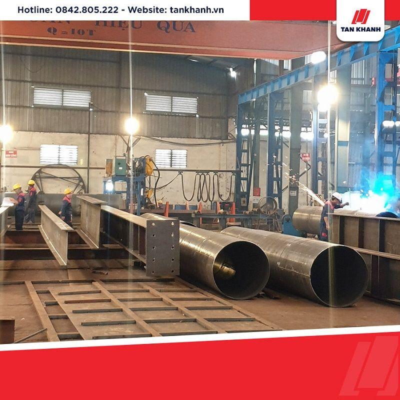 Gia công đường ống bằng thép